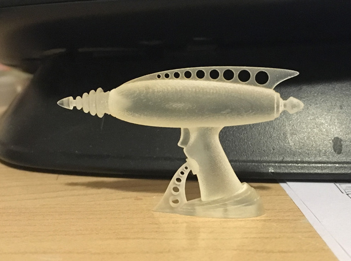Ice Breaker Display Stand A 1:6 scale 3d printed Seen here with gun body, and nozzle
