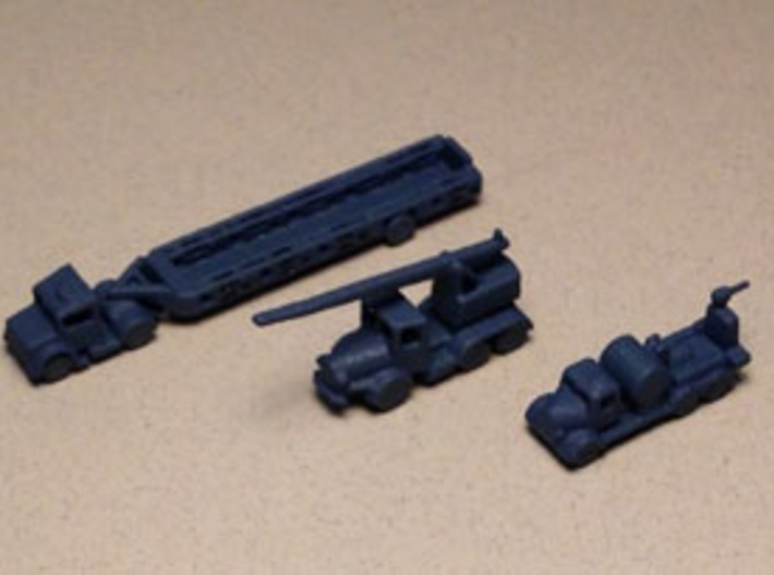1/285 Scale UK Airfield Recovery Set 3d printed