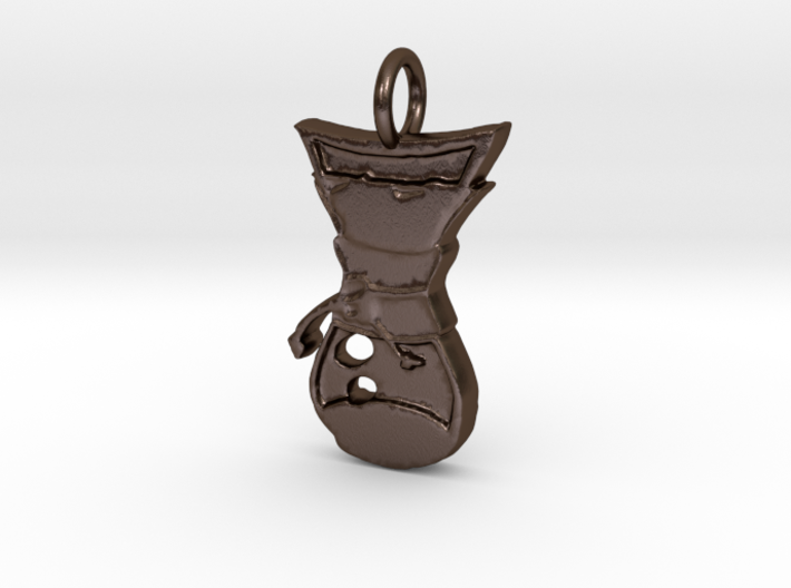Pour Over Pendant 3d printed