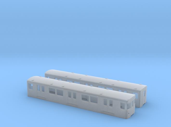 Berlin Baureihe F79  TT [2x body] 3d printed