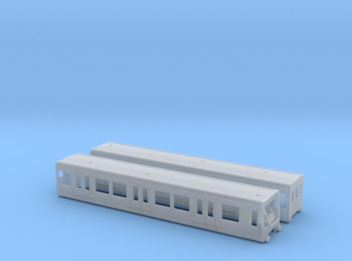 BR 480  TT [2x body] 3d printed