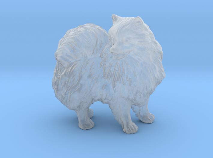 Custom Pomeranian Dog 3d printed