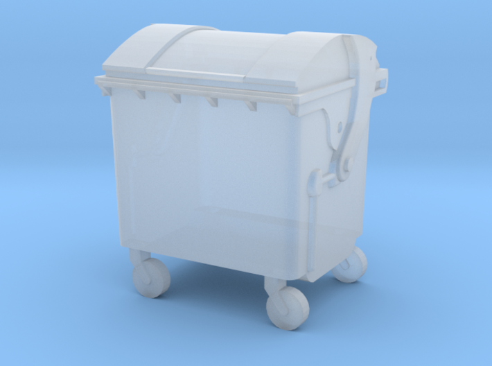 Small trash container 3d printed