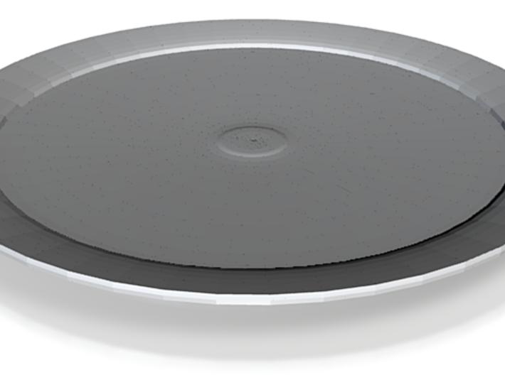 nero tray round 3d printed