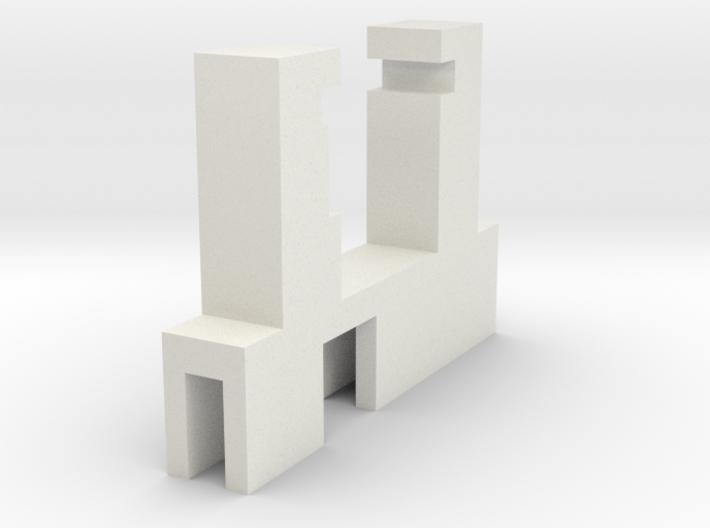 Halter Märklin LS E-Modell LX-U ausgeschnitten 3d printed