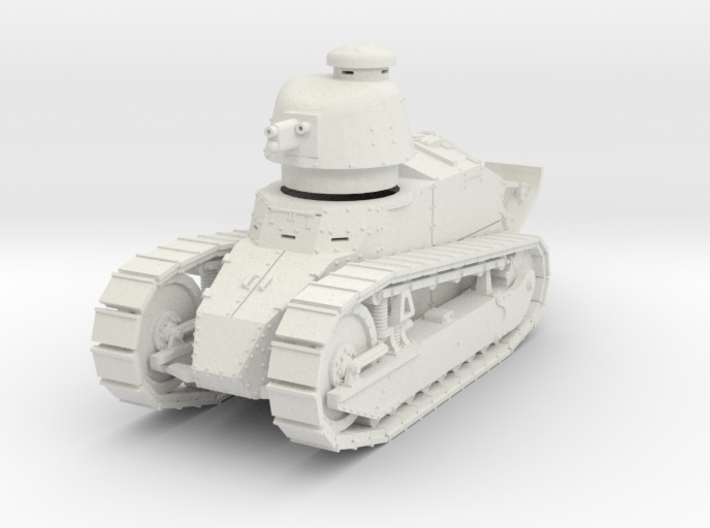 PV07 Renault FT Cannon Cast Turret (1/48) 3d printed