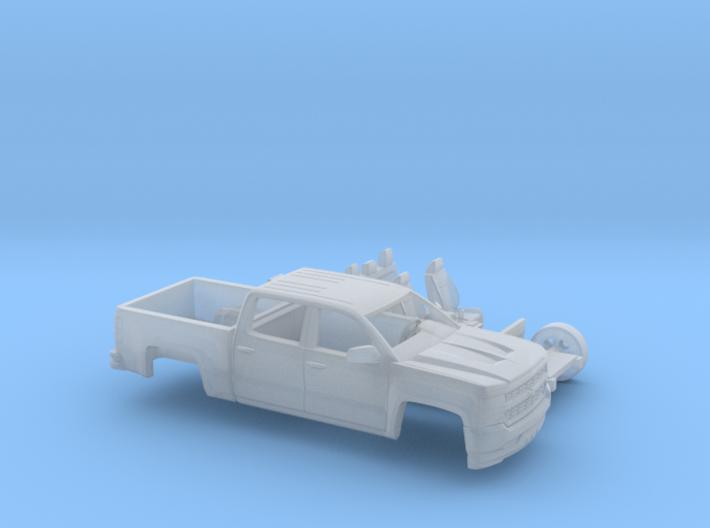 1/87 2016 Chevrolet Silverado Two Piece Kit 3d printed