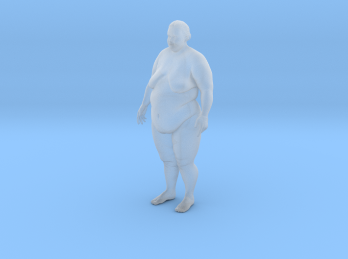 Fat Woman 3d printed