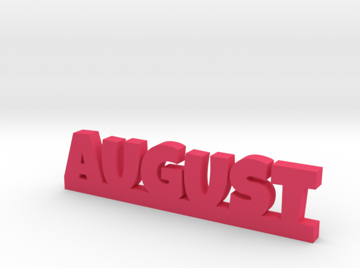 AUGUST Lucky 3d printed