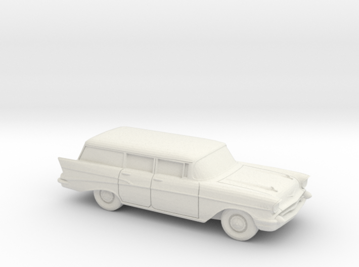 1/43 1957 Chevrolet Bel Air Station Wagon 3d printed