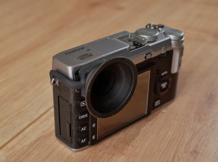 Eyecup adapter for X-E1 / X-E2 / X-E2s V2 3d printed