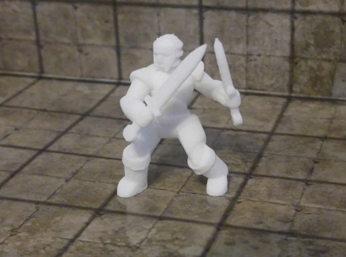 General Fighter Mini (Dual Blades) 3d printed