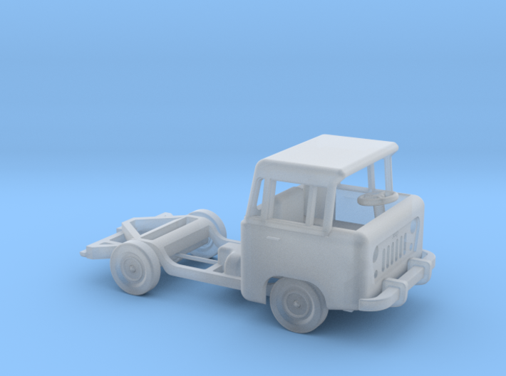1959 FC150 Chassis and Cab 3d printed