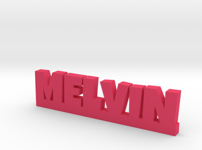MELVIN Lucky 3d printed