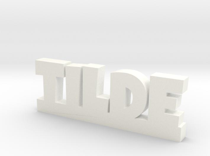 TILDE Lucky 3d printed
