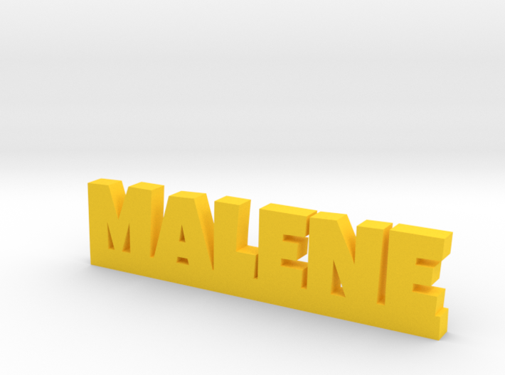 MALENE Lucky 3d printed