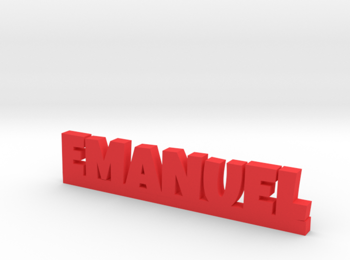 EMANUEL Lucky 3d printed