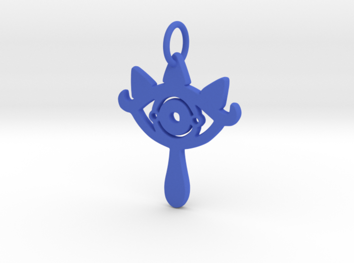 Earring Ring Double Stacked 3d printed