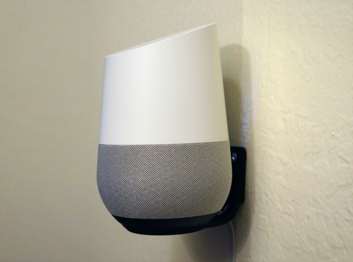 Levitating Google Home Wall Mount 3d printed