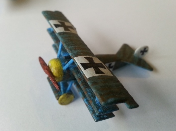 1/144 Fokker Dr.1 3d printed Painted model