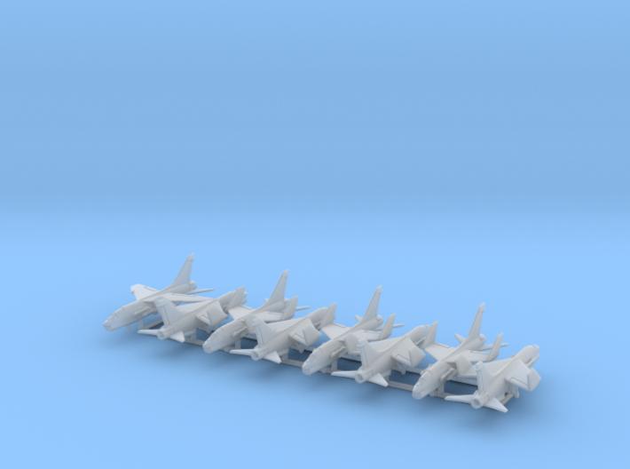 F-8E w/Gear x8 (FUD) 3d printed