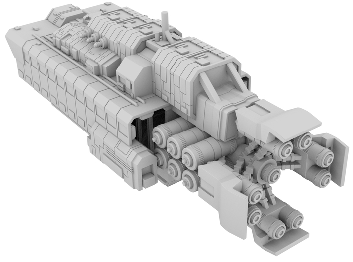 1:10000 Canterbury_100mm [The Expanse] 3d printed