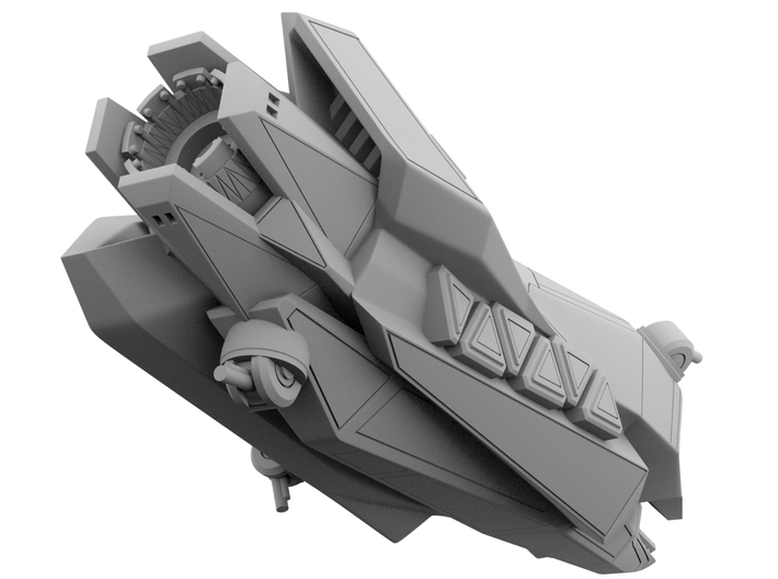 1:1000 - Anubis: Stealth Ship_100mm [The Expanse] 3d printed