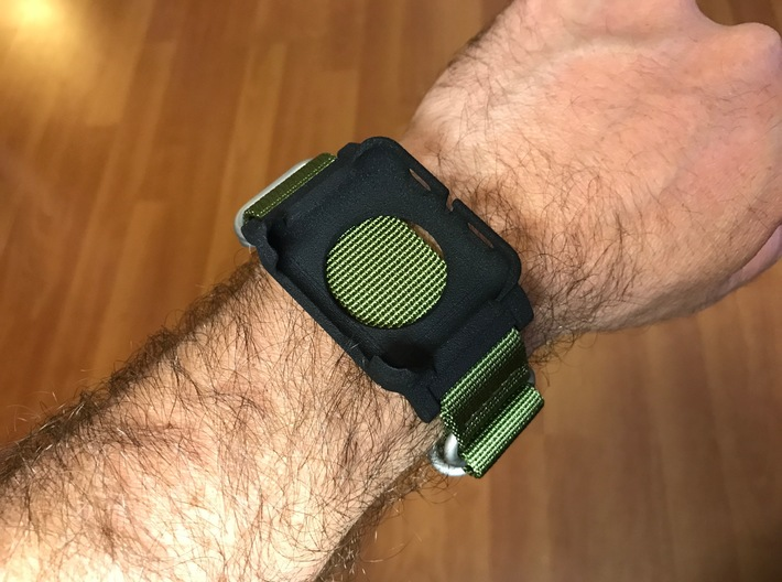 Apple Watch Case - 42mm For 24mm NATO / RAF Strap  3d printed