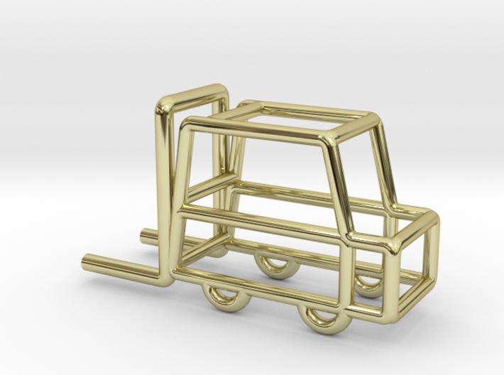 Fork-lift Truck, Pendant 3d printed