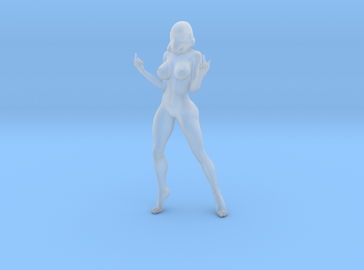 1:32 Star War sexy girl-001 3d printed