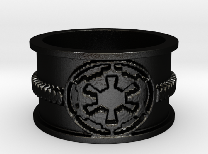 Imp Ring 3d printed