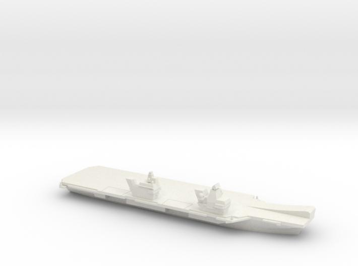 Queen Elizabeth-class aircraft carrier, 1/1800 3d printed