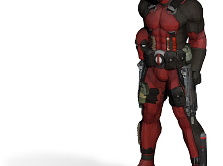 Deadpool Fixed 3d printed