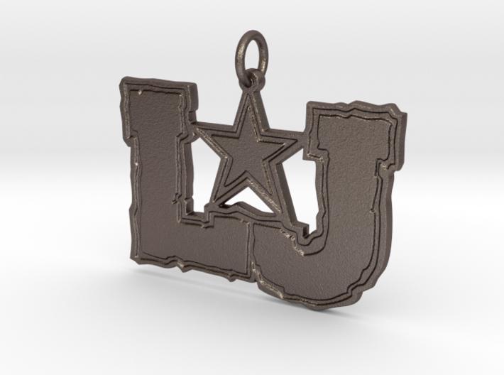 LJ Pendant 3d printed