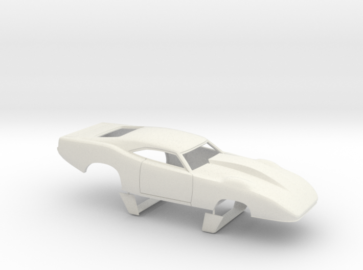 1/24 69 Daytona Pro Mod Smooth Door 3d printed