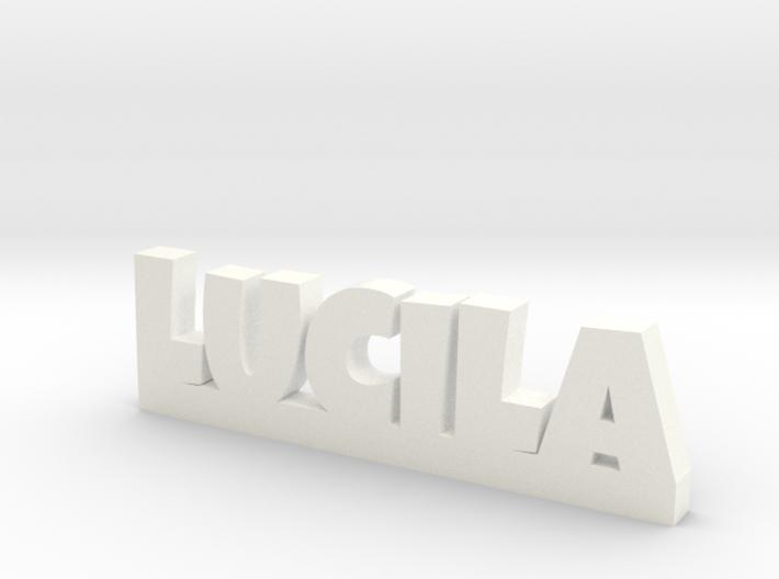 LUCILA Lucky 3d printed