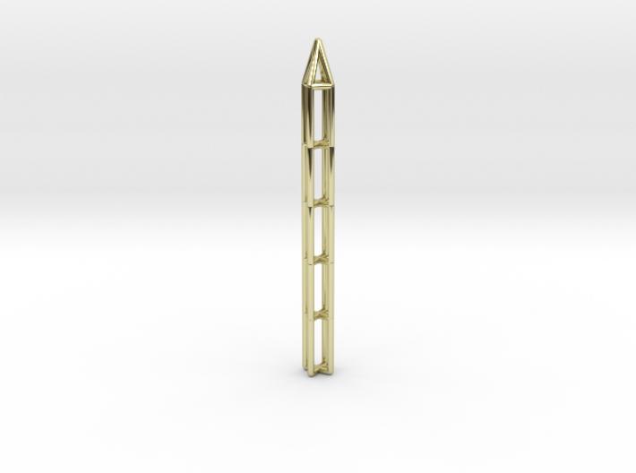 Pen Pendant X 3d printed