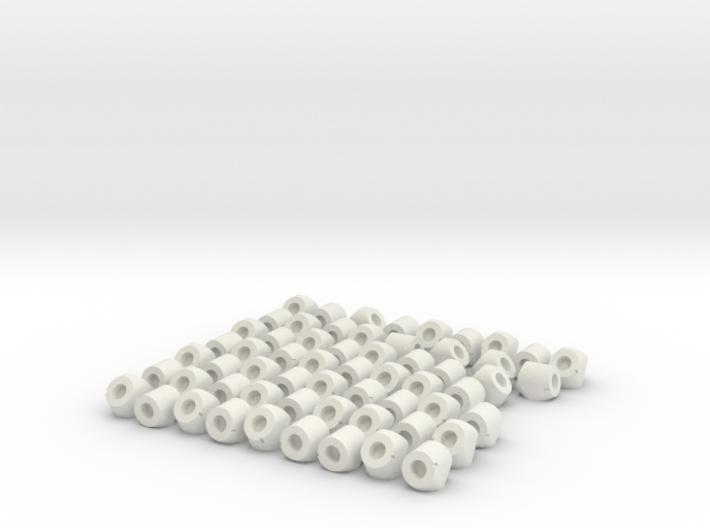 Globe Knot Connectors 3d printed