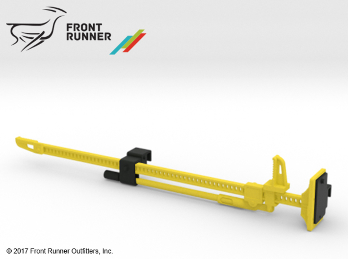 FR10023 Jack and Bracket - YELLOW 3d printed