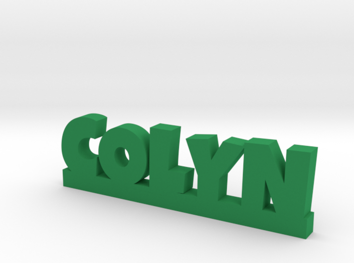 COLYN Lucky 3d printed
