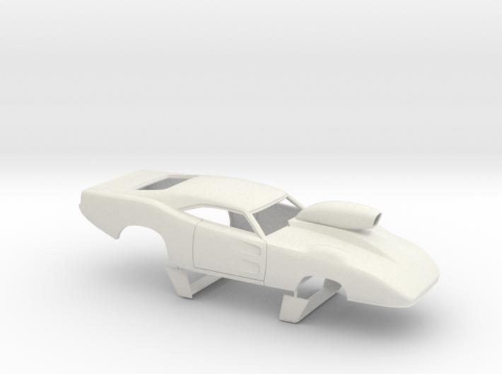 1/25 69 Daytona Pro Mod W Vents W Scoop 3d printed