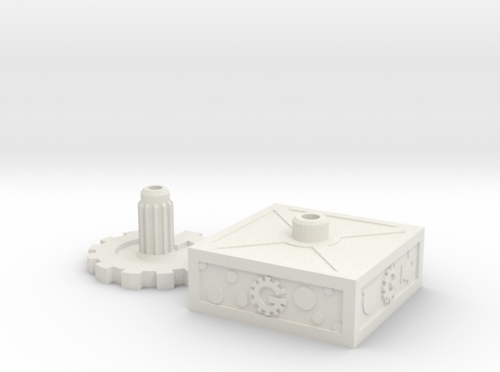 Mystery Bot Base Set 3d printed
