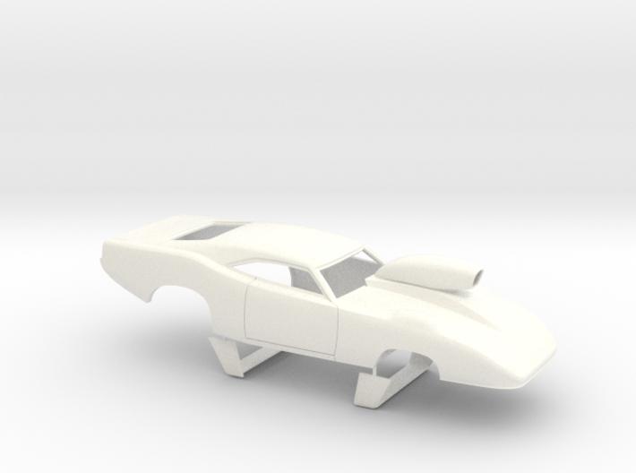 1/32 69 Daytona Pro Mod Smooth Door W Scoop 3d printed