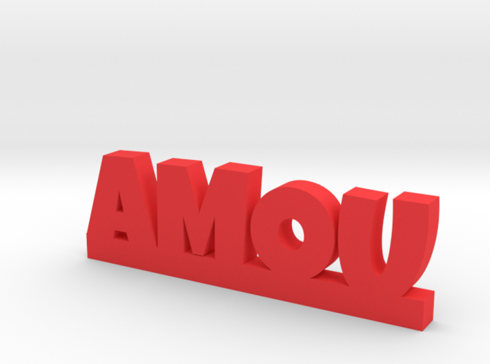 AMOU Lucky 3d printed