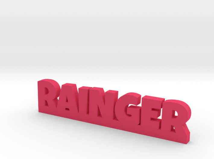 RAINGER Lucky 3d printed