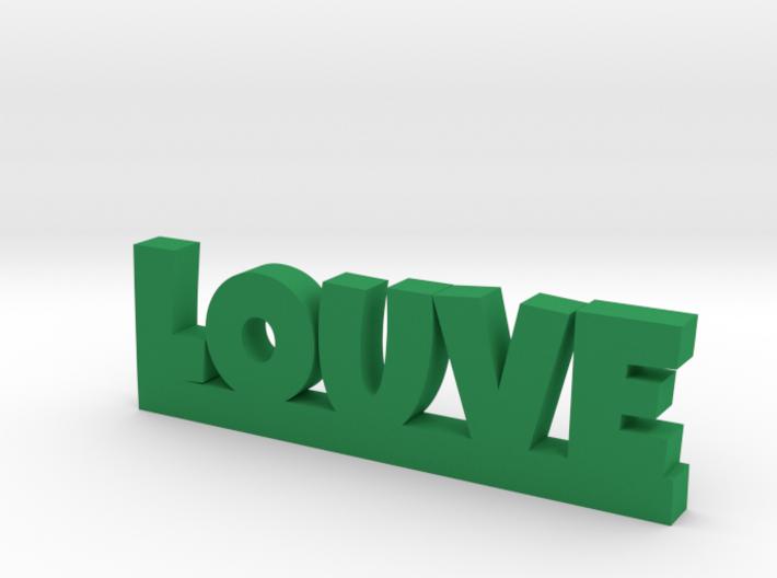 LOUVE Lucky 3d printed