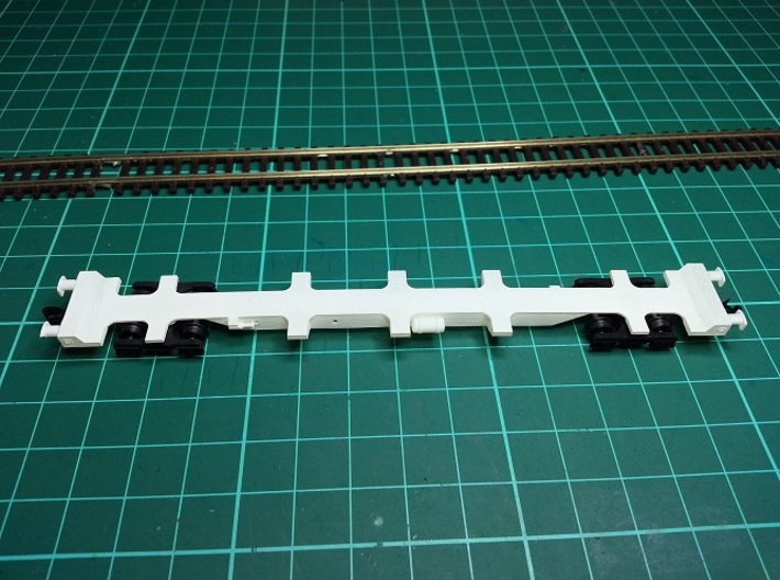 3 * FEA-F Wagon N Gauge 1:148 3d printed FEA-B Top