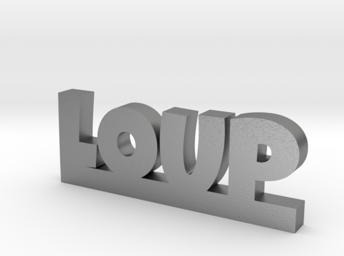 LOUP Lucky 3d printed