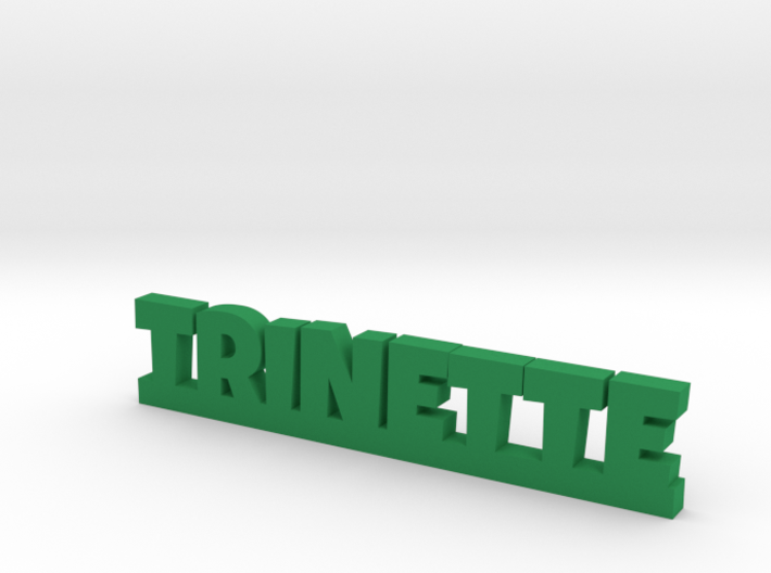 TRINETTE Lucky 3d printed