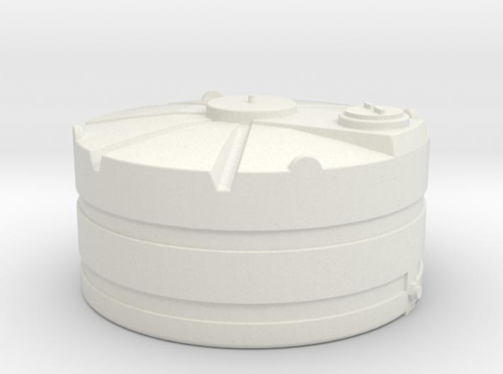 1/64 Scale 1000 Gallon Tank 3d printed